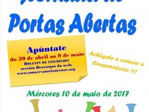 XORNADA DE PORTAS ABERTAS