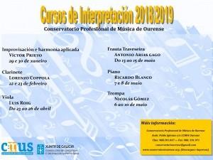 CURSOS DE INTERPRETACIÓN