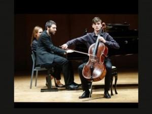 Recital de violoncello.